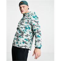 Lyle & Scott - sport - giacca anorak peso piuma mimetica-blu