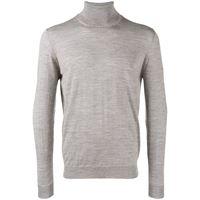 Drumohr maglione con collo alto - grigio