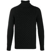 Drumohr maglione a collo alto - nero