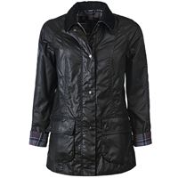 BARBOUR giacca beadnell in cotone cerato