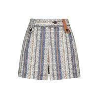 LOEWE shorts anagram in jacquard di cotone a righe