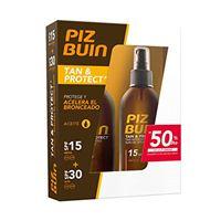 Piz Buin tan and protect duplo olio spf15-spf30-30 ml