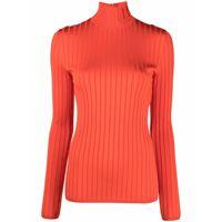 Nina Ricci maglione a coste - arancione