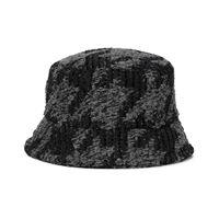 Maison Michel cappello da pescatore axel in tweed