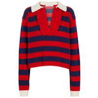 Philosophy di Lorenzo Serafini pullover in lana e cashmere a righe