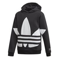adidas Originals bg trefoil hood - felpa con cappuccio - bambino