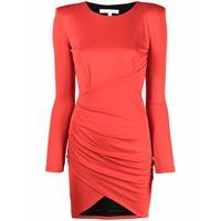 Patrizia Pepe abito corto a portafoglio - rosso