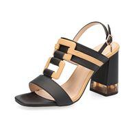 Laura Biagiotti sandalo a t bicolore