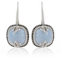 Hilary Joy Couture orecchini in argento con opale