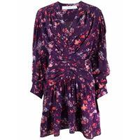 IRO abito corto a fiori - viola