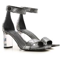 Kendall + Kylie sandali donna in outlet, argento, synthetic fiber, 2021, 36 36.5 37 38.5 40