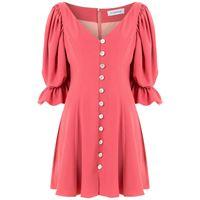 Olympiah abito fresia corto - rosa