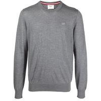 Bally maglione a girocollo - grigio