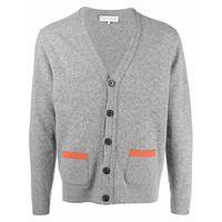 Mackintosh cardigan field - grigio