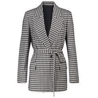 Brunello Cucinelli blazer in lana e cotone a quadri