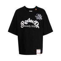 Maison Mihara Yasuhiro t-shirt rodeo dr con stampa - nero