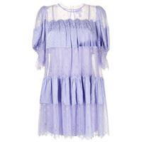 Alice McCall abito con design a pannelli sun moon - viola